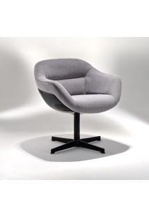 Cadeira Soho Base Em Alumínio E Concha Em Fibra Design By Studio Mais