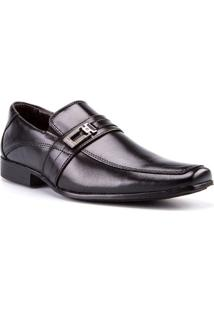 Sapato Masculino Polonni Social Fivela Preto