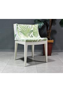 Cadeira Christie - Bamboo (Base Branca)