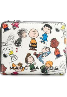 Marc Jacobs Carteira Dobrável X Peanuts - Branco
