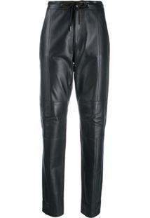 Karl Lagerfeld Calça Com Ajuste No Cós - Preto