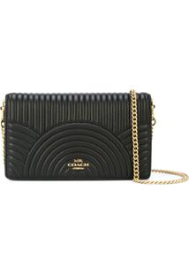 Coach Clutch Callie - Preto