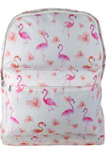 Mochila Lenna'S Flamingo-1 Rosa
