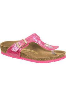 Sandália Rasteira Gizeh Snake- Pink & Begebirkenstock