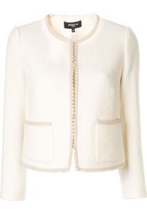 Paule Ka Chevron Weave Jacket - Branco