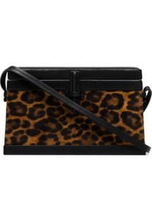 Hunting Season Bolsa Trunk Com Animal Print - Marrom