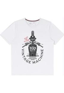 Camiseta Branco Hangar