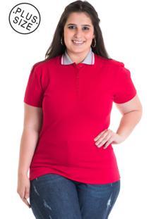 ... Camisa Polo Konciny Piquet Estampado 96310 Vermelho 953ab98190b54