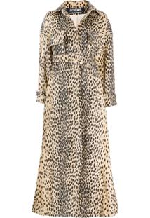 Jacquemus Trench Coat De Oncinha Oversized 'Thika' - Marrom