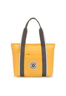 Bolsa Kipling Era M - Amarelo