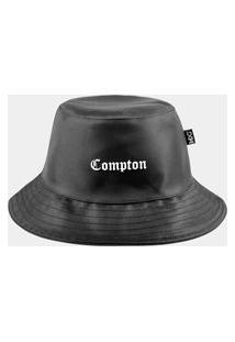 Chapéu Bucket Mxc Brasil Original Compton Preto