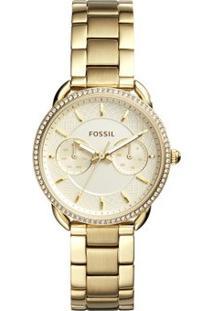 Relógio Fossil Feminino Tailor - Es4263/4Dn Es4263/4Dn - Feminino-Dourado