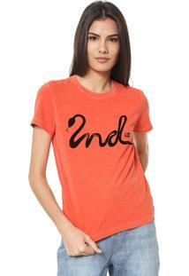 Camiseta Ellus 2Nd Floor Snake Laranja