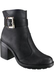 Bota Feminina Quiz Ankle Boot