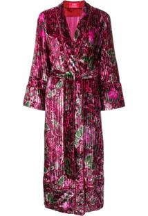F.R.S For Restless Sleepers Kimono Longo - Rosa