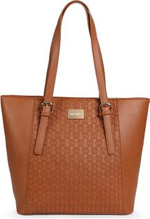 Bolsa Shopping Bag Via Uno Monograma