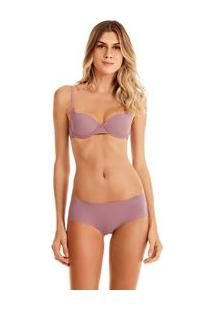 Sutia Push Up Estetico Lilas