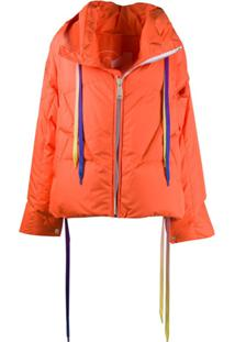 Khrisjoy Zipped Oversized Jacket - Laranja