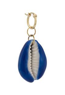 Aurelie Bidermann Brinco Único Merco Shell - Azul