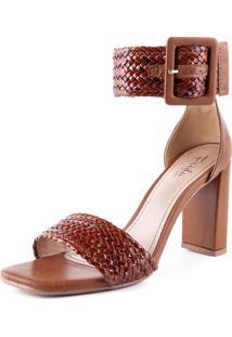 Sandália Caramelo Santo Grosso Frida Shoes
