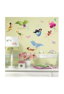 Adesivo Decorativo Roommates - Fadas Disney Roommates