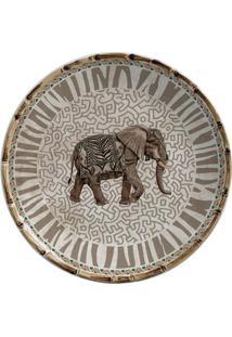 Prato De Sobremesa De Cerâmica Savanah Maison Blanche 20Cm - 28237
