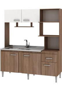 Cozinha Compacta Sem Tampo Fellicci Sevilha, 5 Portas, 1 Gaveta - Cc46
