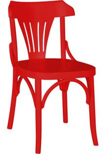 Cadeira De Jantar Opzione Vermelho