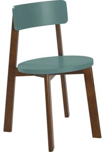 Cadeira Lina 75 Cm 941 Cacau/Azul Claro - Maxima