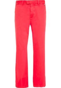 Calça Masculina Chino - Vermelho