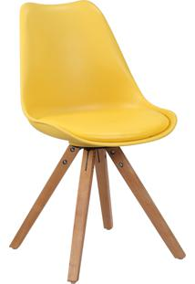 Cadeira Ligia Amarela Rivatti