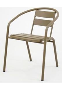 Cadeira Fun Em Aluminio Capuccino - 58397 - Sun House