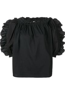 See By Chloé Pleated Blouse - Preto