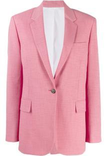 Calvin Klein 205W39Nyc Blazer Clássico - Rosa