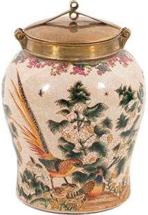 Vaso Decorativo De Porcelana Saint P
