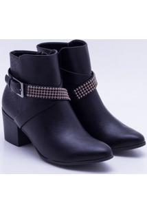 Ankle Boot Ramarim Preta 34