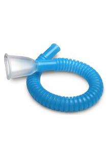 Mangueira E Bocal Para Respiron Ncs Azul 1,6Cm X 26,6Cm (Dxc)