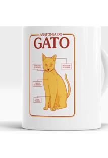 Caneca Anatomia Do Gato