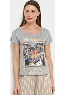 Camiseta Carmim Fada Feminina - Feminino