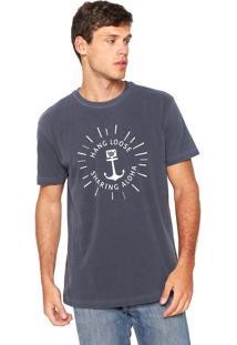 Camiseta Hang Loose Aloha Azul