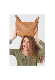 Bolsa Transversal Shoulder Bag Intra Marrom