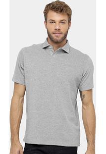 Camisa Polo Richards Piquet Mesclado - Masculino