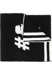 Karl Lagerfeld Echarpe Karl - Preto