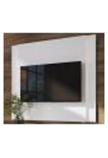 Painel Com Led Para Tv 60 Polegadas Linha Vesta 27846 Branco Artesano