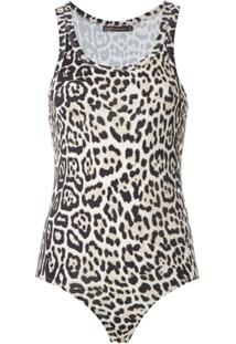 Bo.Bô Body Regata Animal Print - Estampado