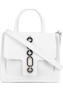 Bolsa Petite Jolie Stella Bag Feminino - Feminino-Branco