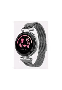 Relógio Smart S886 Feminino - Cinza