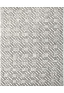 Tapete Classe A Geomã©Trico- Bege Escuro & Off White-Tapete Sã£O Carlos