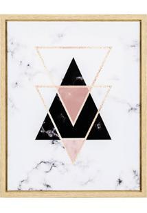 Quadro Decorativa Pyramid L Colorido