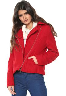 Jaqueta Fiveblu Perfecto Vermelha
